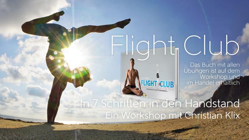 """Flight Club"" Handstandworkshop mit Christian Klix 17. Mai 2020 10:00-13:00"
